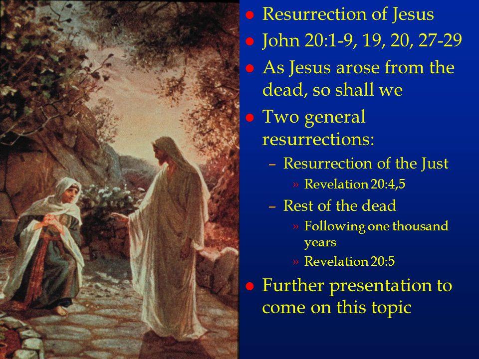 cc63 Resurrection of Jesus John 20:1-9, 19, 20, 27-29
