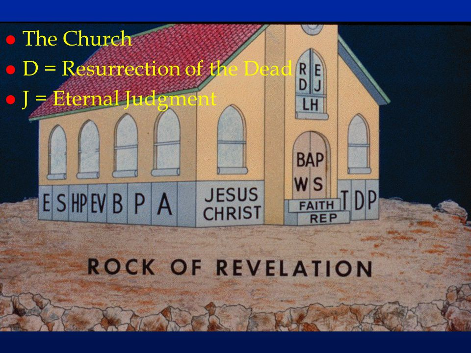 cc65 The Church D = Resurrection of the Dead J = Eternal Judgment