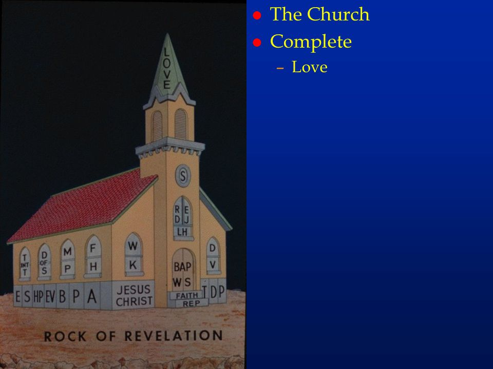 The Church Complete Love cc74