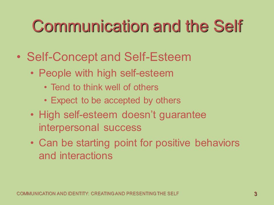 self concept and people A self-concept is an understanding you have of yourself that's based on your personal experiences, body image, the thoughts you have about yourself, and how you tend.