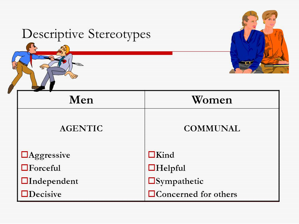 Descriptive Stereotypes