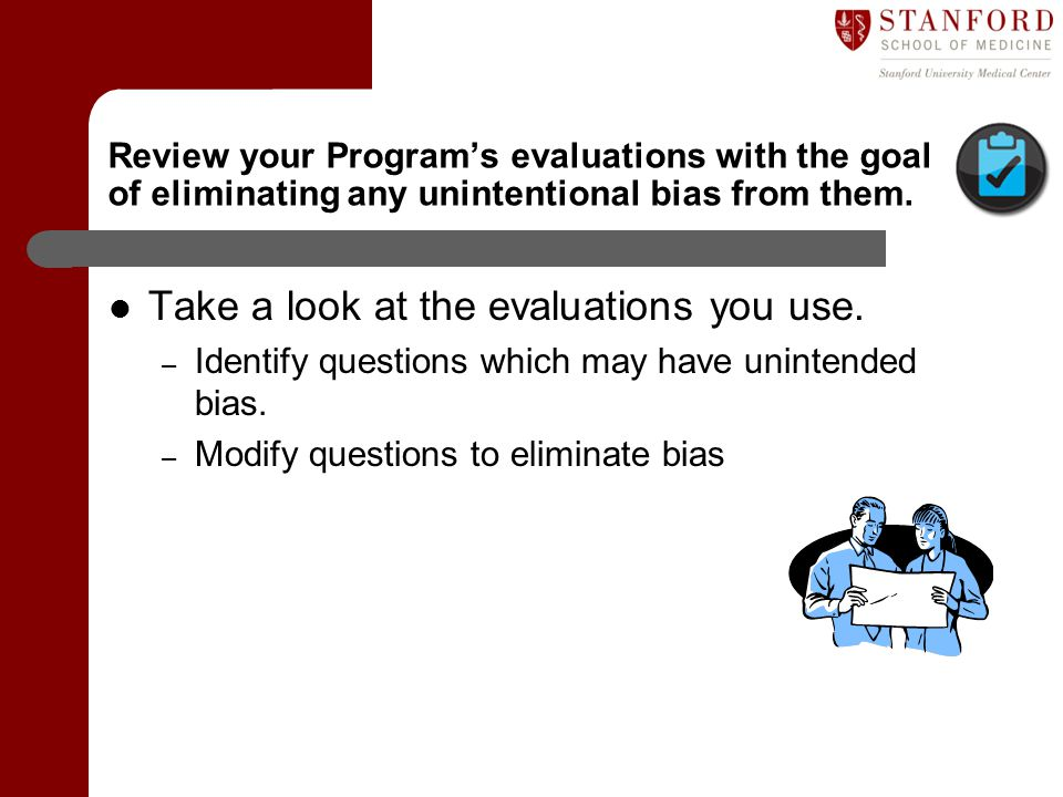 Take a look at the evaluations you use.