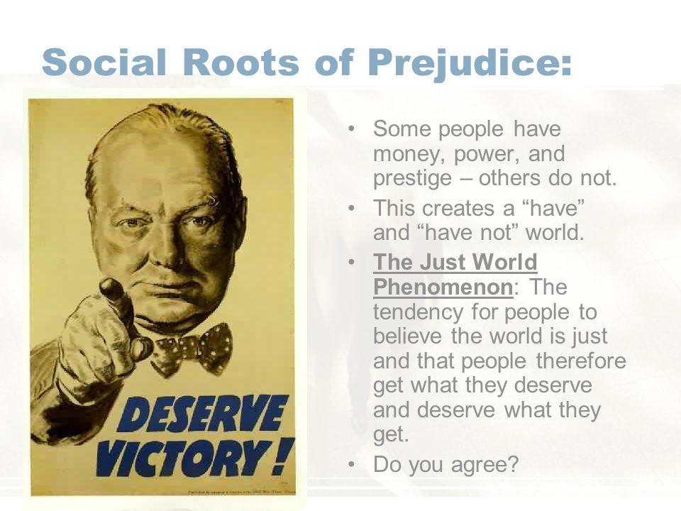 Social Roots of Prejudice: