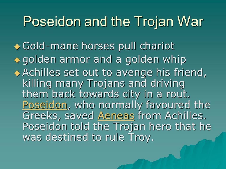 Poseidon and the Trojan War