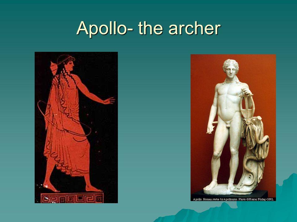 Apollo- the archer