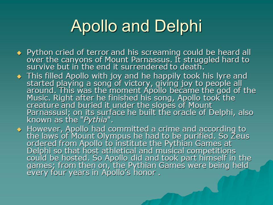 Apollo and Delphi