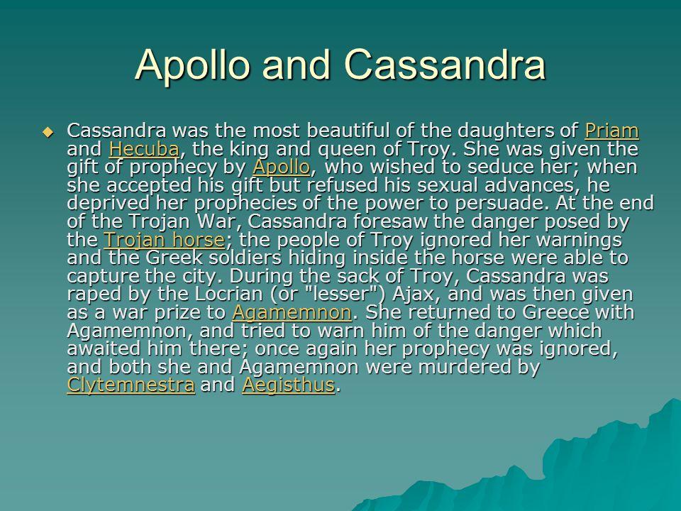Apollo and Cassandra