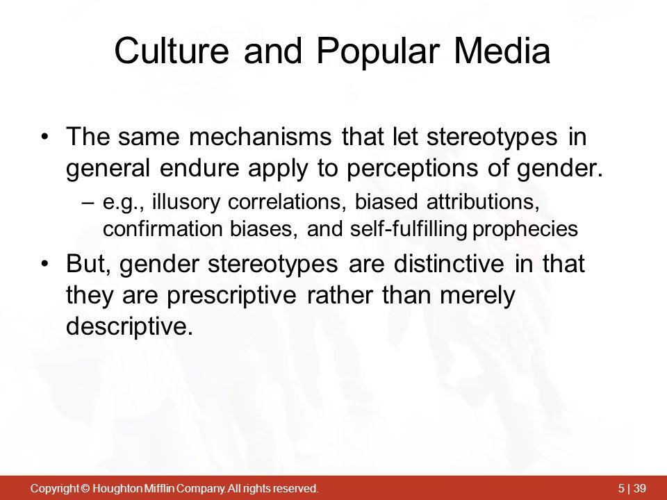 Culture and Popular Media