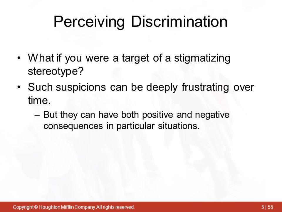 Perceiving Discrimination