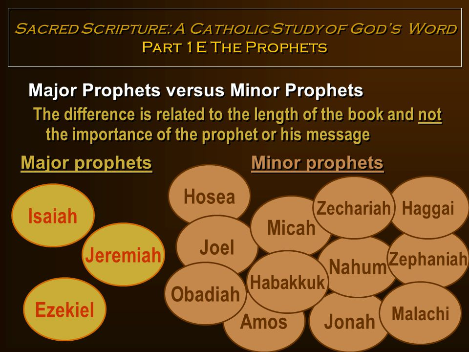 prophets and the importance of their messages Before addressing the universality of prophet muhammad's (peace and blessings  be upon him) message, it is essential to focus our attention to.