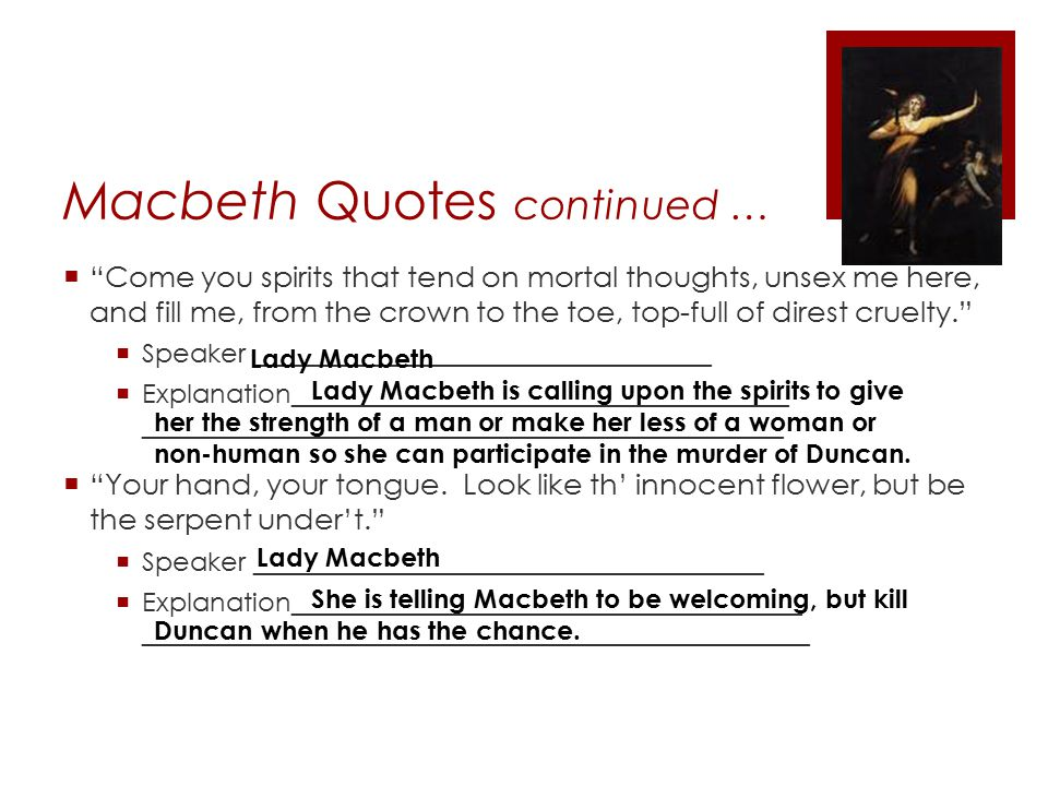 The Macbeth Murder Quotes, Quotations & Sayings 2018