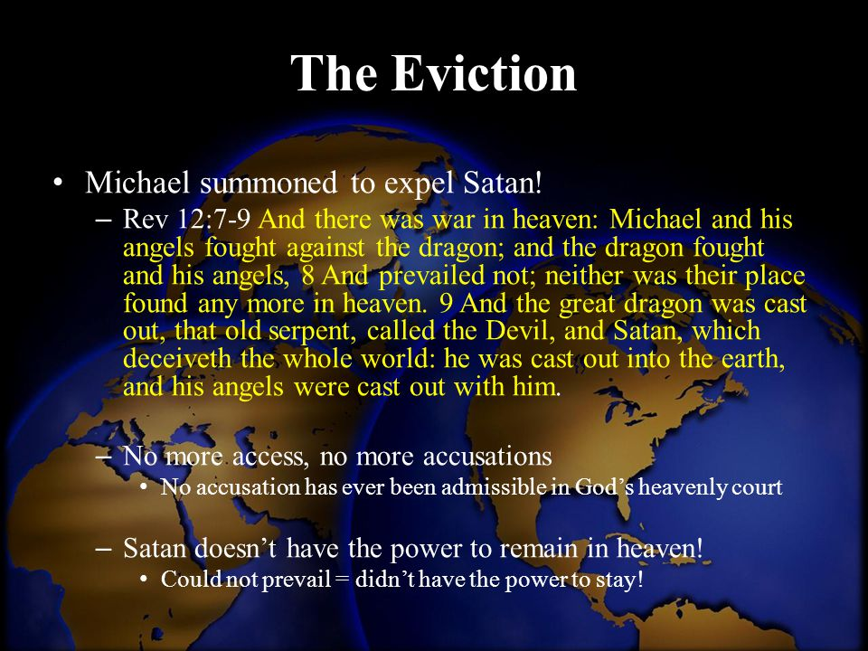 The Eviction Michael summoned to expel Satan!