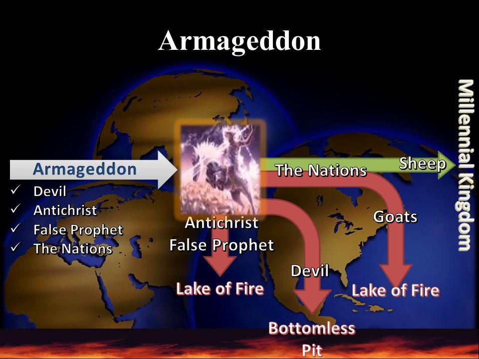 Armageddon Millennial Kingdom Sheep Armageddon The Nations Goats