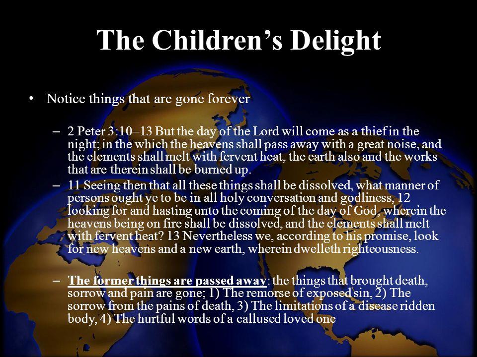 The Children's Delight