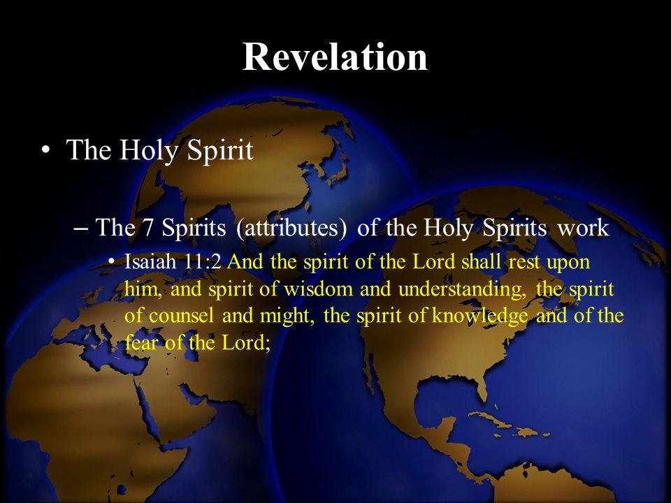 Revelation The Holy Spirit