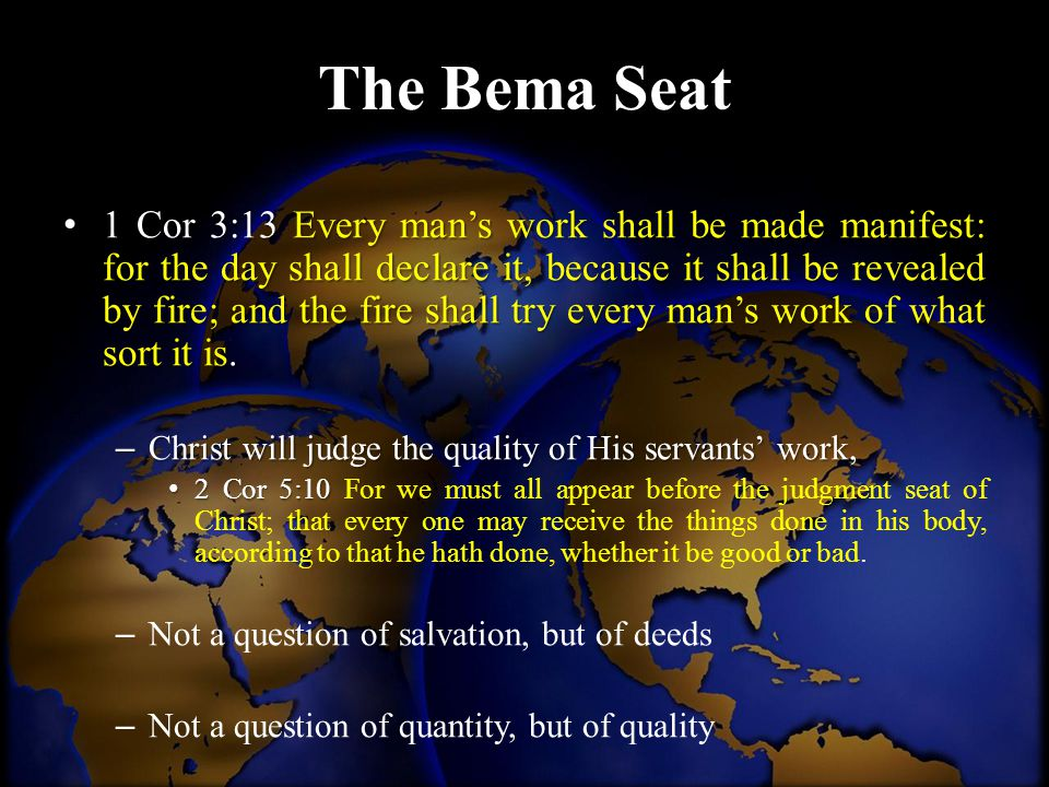 The Bema Seat