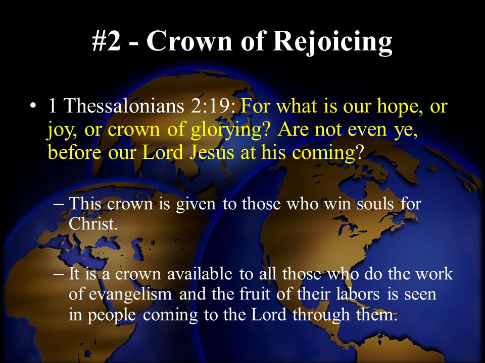 #2 - Crown of Rejoicing