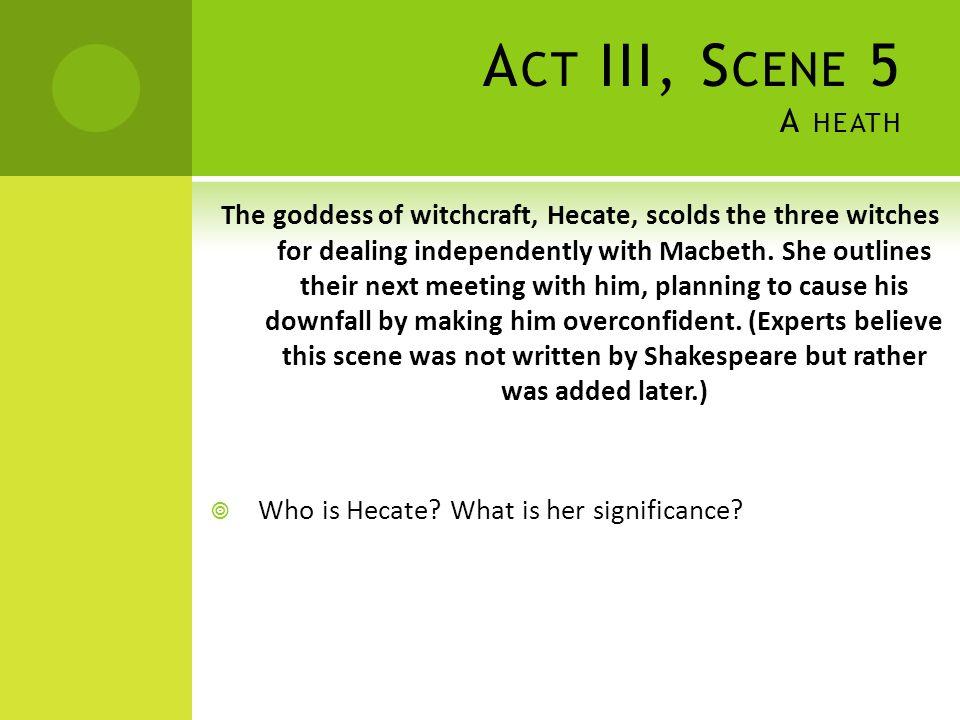 Act III, Scene 5 A heath