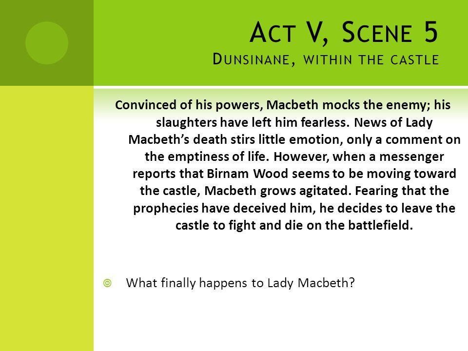 Act V, Scene 5 Dunsinane, within the castle