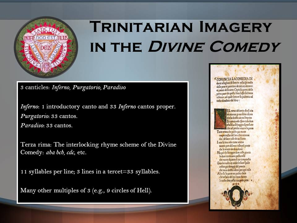 Trinitarian Imagery in the Divine Comedy