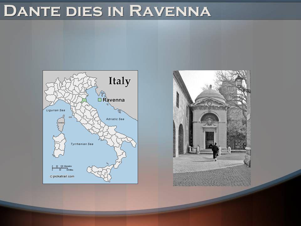 Dante dies in Ravenna