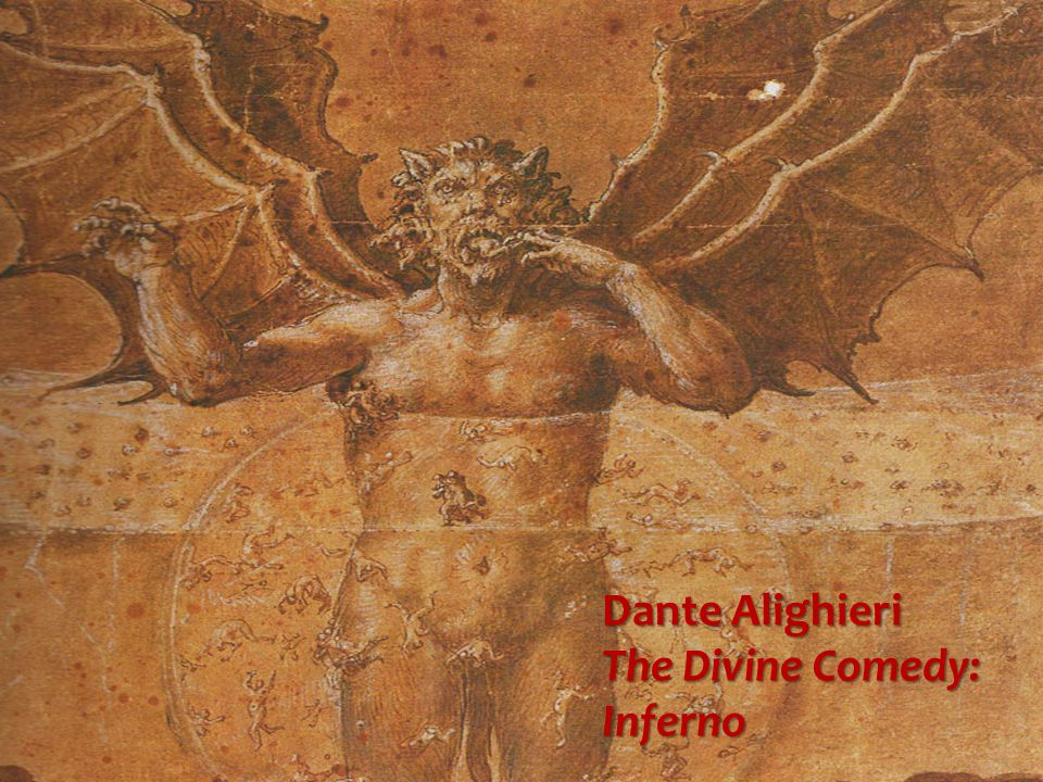 dante alighieri in the divine comedy The divine comedy (hell) describes dante alighieri 's journey through hell (inferno), guided first by the roman epic poet virgil and then by beatrice dante called the poem comedy because poems in the ancient world were classified as high (tragedy).