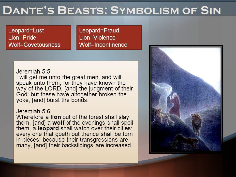 Dante's Beasts: Symbolism of Sin