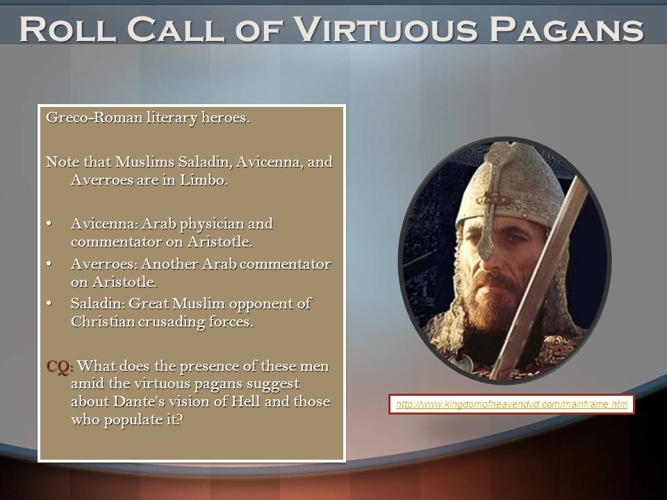 Roll Call of Virtuous Pagans