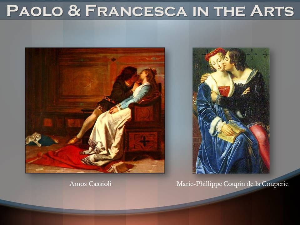 Paolo & Francesca in the Arts