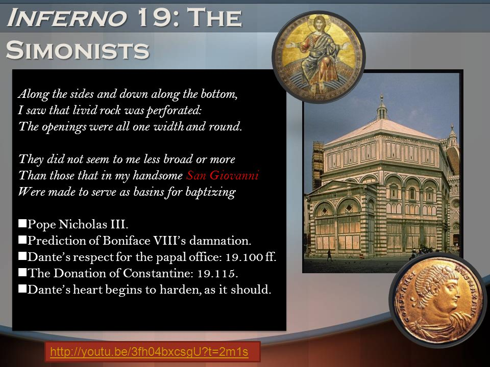 Inferno 19: The Simonists
