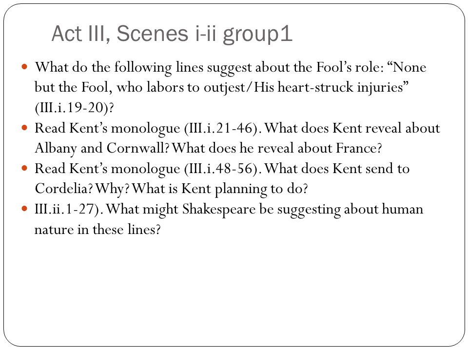 Act III, Scenes i-ii group1
