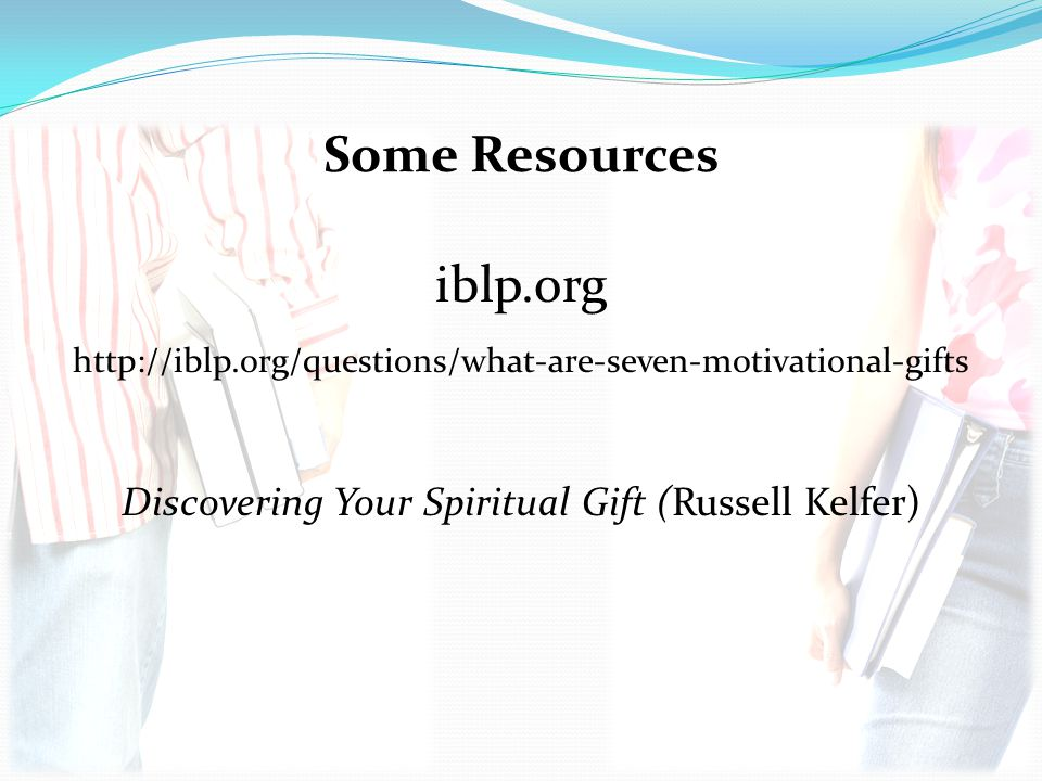 Discovering Your Spiritual Gift (Russell Kelfer)