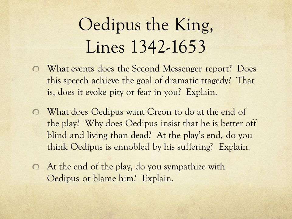 Oedipus the King, Lines 1342-1653