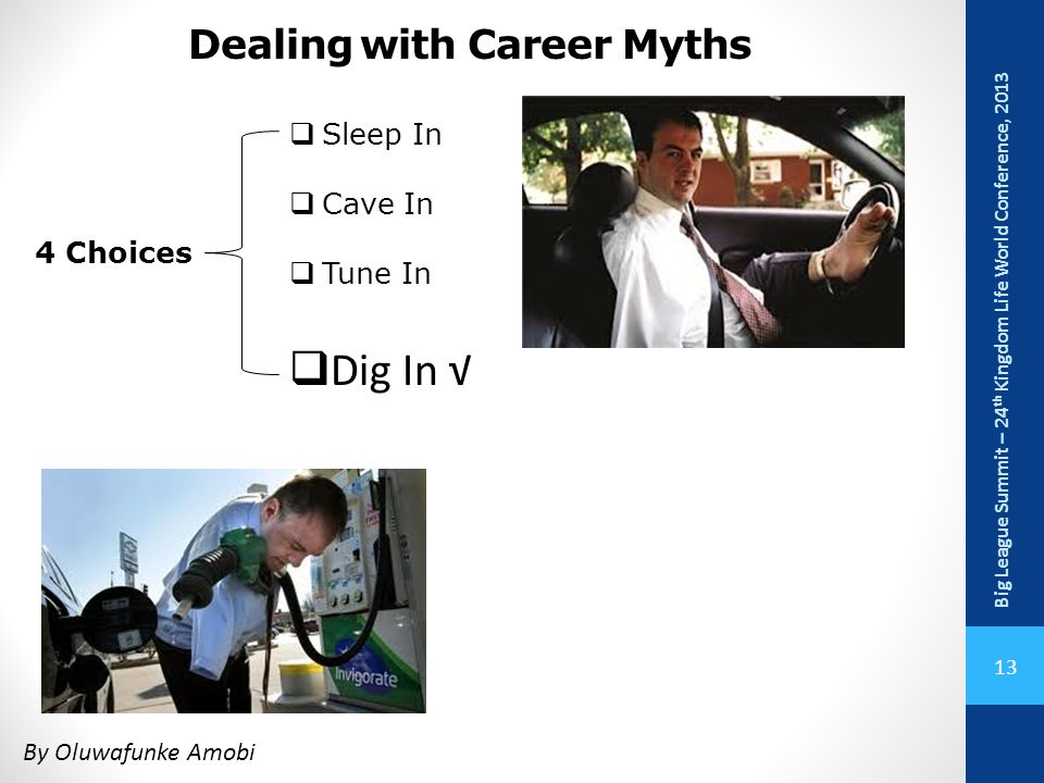 Dealing with Career Myths