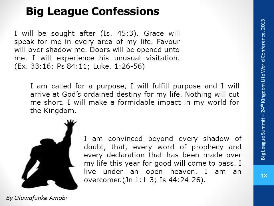 Big League Confessions