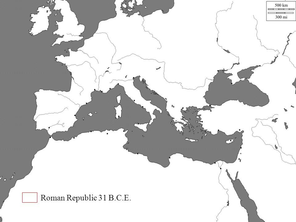 Roman Republic 31 B.C.E.