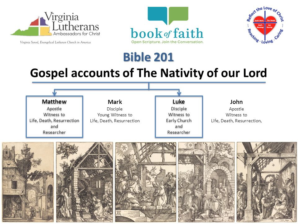 Gospel accounts of The Nativity of our Lord