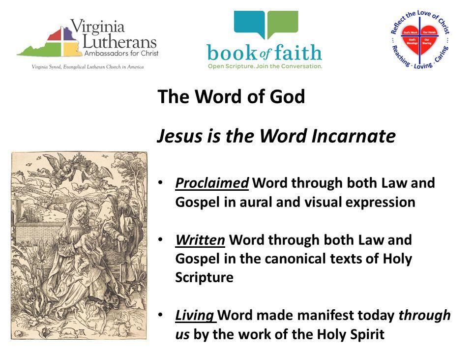 Jesus is the Word Incarnate