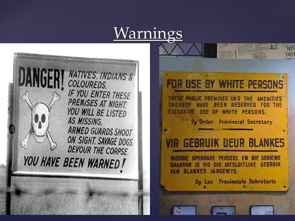 Warnings By Mzoli Mncanca