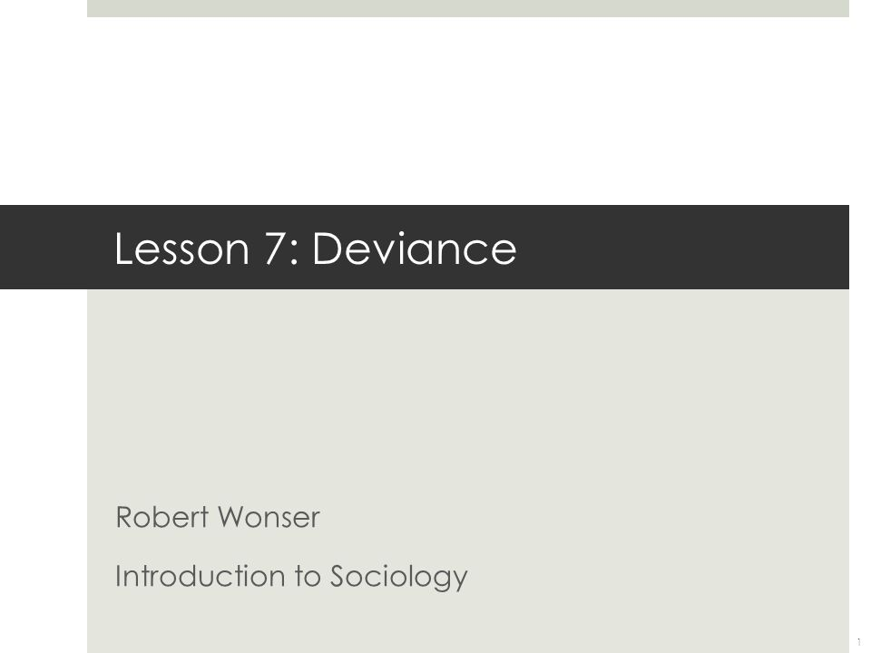Robert Wonser Introduction to Sociology