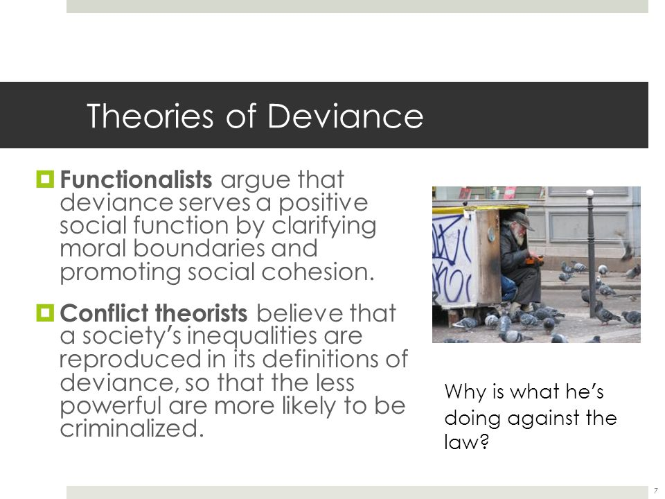 Theories of Deviance