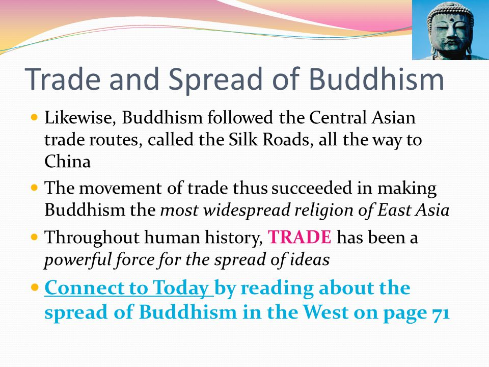 Trade and Spread of Buddhism