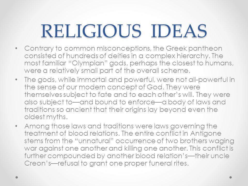 RELIGIOUS IDEAS