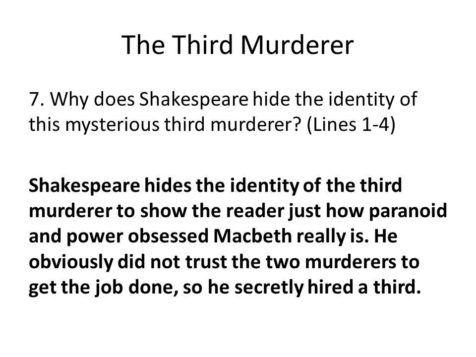 The Third Murderer