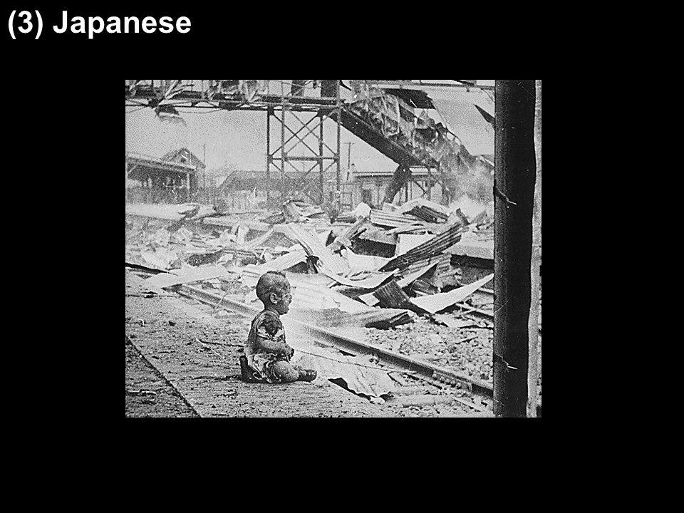 (3) Japanese (2) land usage patterns (3) climatic patterns (4) mountain ranges
