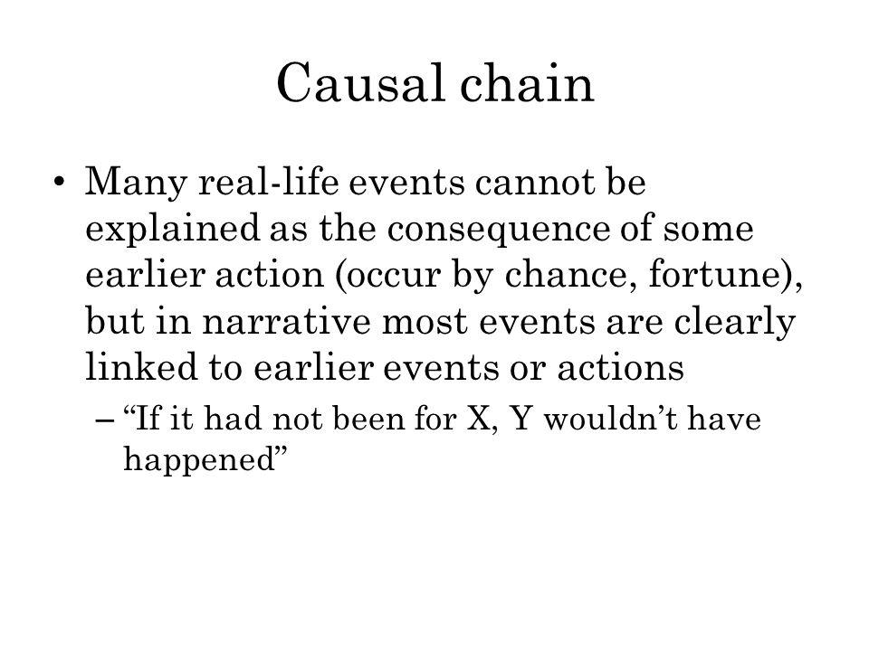 Causal chain