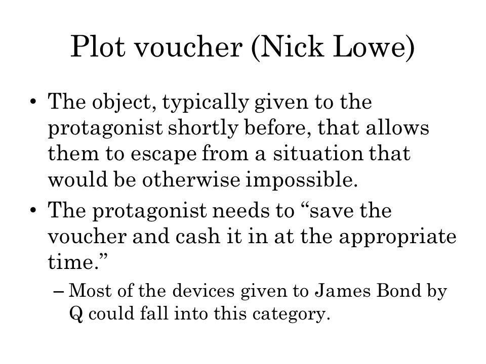 Plot voucher (Nick Lowe)