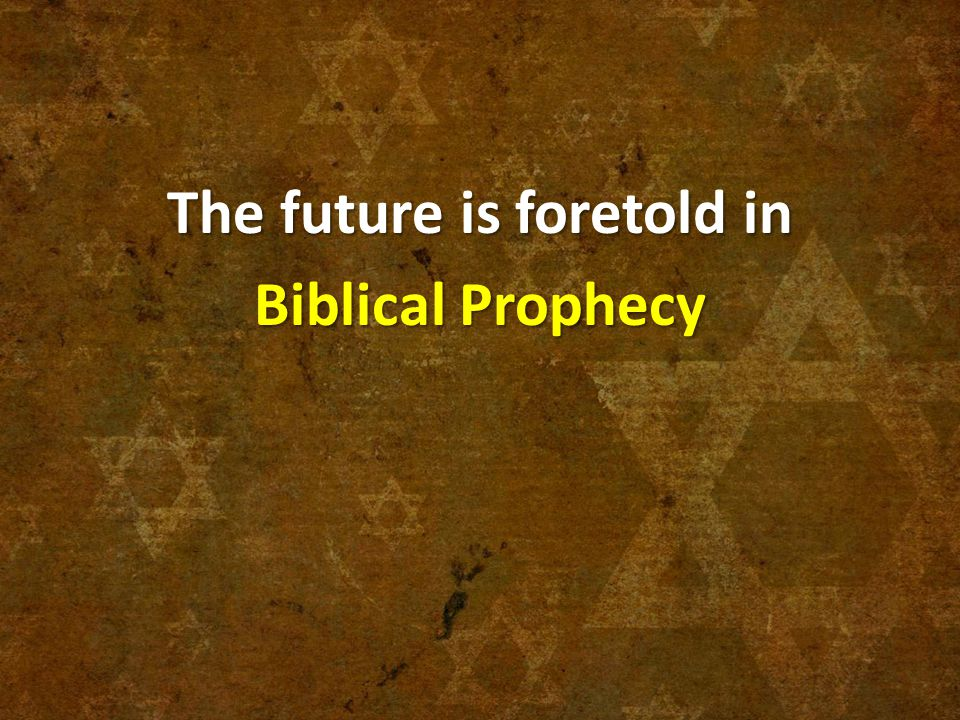 Essay on prophecy and seeing the future