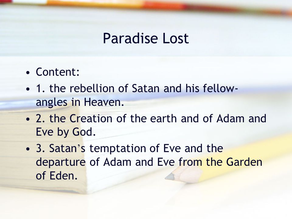 "understanding adam and eve in the garden of eden essay Adam makes the conscious choice to leave the garden of eden in order to remain with eve and to fulfill the commandment given by their father to people the newly created earth he unquestionably knows what he is doing in leaving paradise to come into the less friendly ""world""."