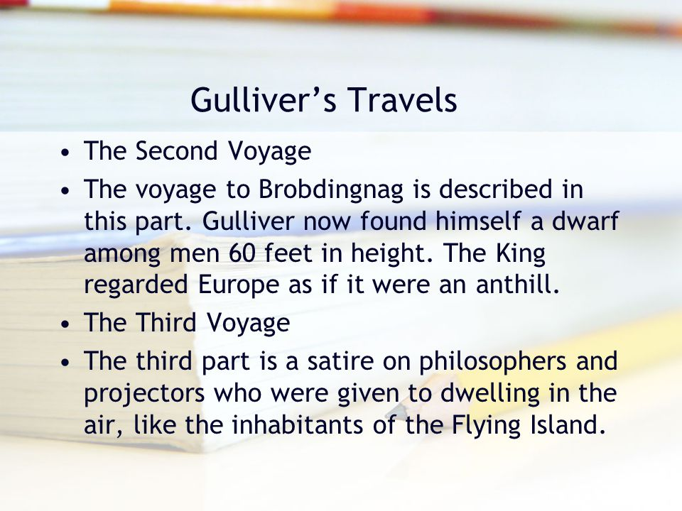 Gulliver's Travels The Second Voyage